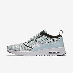 huge selection of 5beae 99f0c Chaussure Nike Air Max Thea Pas Cher Femme et Homme Ultra Flyknit Bleu  Glacier Noir Blanc