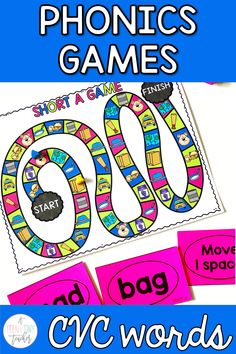 use phonics games in your classroom to get your students engaged during reading center time!