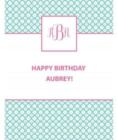 Shop our individual handmade party decorations to add a special touch to your next birthday party. Invitations, cupcake toppers, banners, cupcake wrappers, and much more! Happy Birthday, Birthday Parties, Party Poster, Quatrefoil, Cupcake Toppers, Birthdays, Banner, Monogram, Invitations