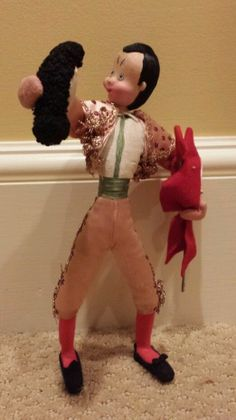 Vintage Klumpe Made in Spain Matador Doll #Klumpe