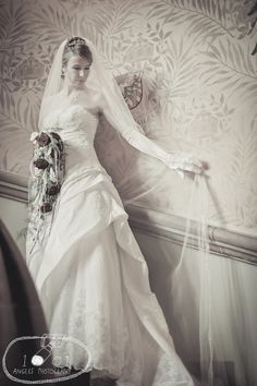 Bride at her dream castle wedding in Fritzlar, Germany #1001anglesphotography #brideportait