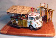 Plastic Model Car Kits, Model Aircraft, model ships, and figures. Plastic Model Kits, Plastic Models, Vw T1, Volkswagen, T2 Bus, Combi Vw, Custom Hot Wheels, Found Object Art, Model Train Layouts
