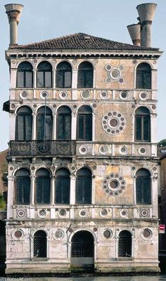 Pietro Lombardo, Palais Dario, 1487, Venetie