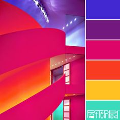 Electric Neons #patternpod #patternpodcolor #color #colorpalettes