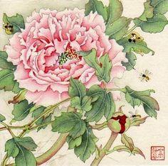 """Spring Rise"" - Original Fine Art for Sale - © Jinghua Gao Dalia"