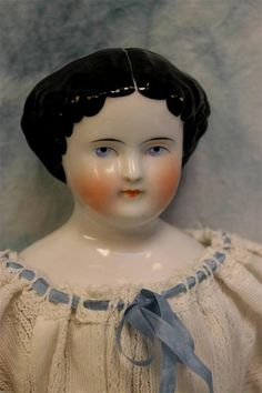 16 1/2 in. 1860's china head doll