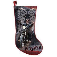 Walking Dead Daryl Dixon Christmas Stocking