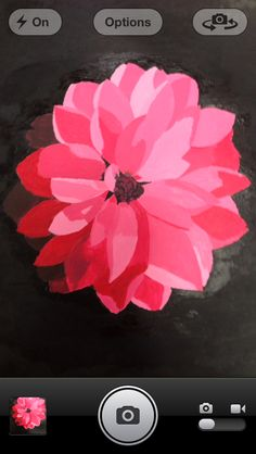 My 2nd flower painting