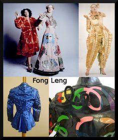 Dutch 1970s fashion by cult designer/artist Fong-Leng