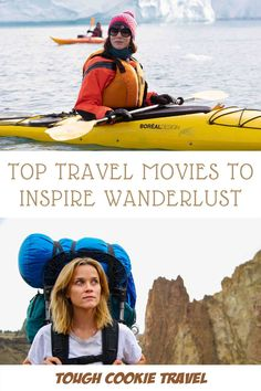 Best Female Travel Movies | Wish you could be traveling? Pretend you are! Check out my list of top 17 travel movies with strong female leads to feed your wanderlust and keep your travel dreams alive while you're stuck at home. #travel #movies #wanderlust