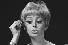 Are our eyes playing tricks on us? Spidery lashes are making a comeback.