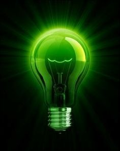 Green Energy Tips That Can Save You Money Today! Have you considered joining the green energy revolution, but don't know what you need to do to get started? Mean Green, Go Green, Green Colors, Green Life, Pretty Green, Bright Green, Energy Efficient Lighting, Energy Efficiency, Green Technology