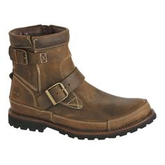 Timberland Men Boots Leather