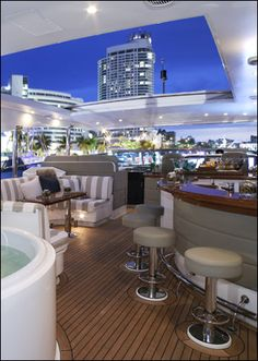 Inside Luxury Yachts | YIBS: Yacht Interiors By Shelley | Company Information & Location | Ft ...
