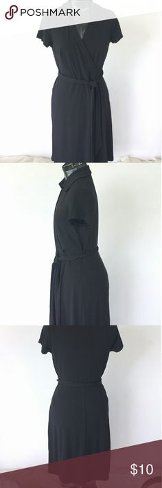 Kenar Faux Wrap Dresd Has some snags but in overall very good condition! Stretchy. Size 8 Kenar Dresses