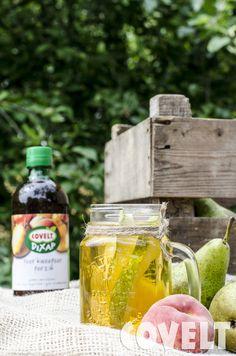 Dixap in a jar! :) Heerlijk met wat vers fruit. #CoveltDixap #Peer #Kweepeer #Perzik #Jar