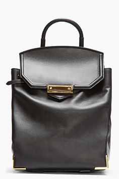 Alexander Wang Black Prisma Backpack