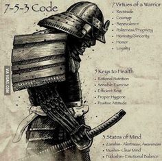 7 virtues of warrior
