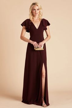All Bridesmaid Dresses | Birdy Grey Bridesmaid Dresses Under 100, Affordable Bridesmaid Dresses, Burgundy Bridesmaid Dresses, Wedding Dresses, Bride Dresses, Bridesmaids, Prom Dresses, Crepe Dress, Slit Dress