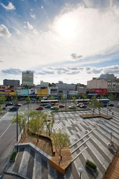 Central Dandenong Lonsdale Street Redesign and Upgrade by BKK Architects I Like Architecture