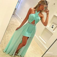 Prom Dresses Boho, Mint Green Prom Dress - Halter Sleeveless Floor-length Prom Dress with Beading Shop prom dresses Boho,such as beading prom pieces prom dresses,chiffon prom dress,lace prom dresses Mint Prom Dresses, Homecoming Dresses, Evening Dresses, Dress Prom, Dress Long, Sweetheart Prom Dress, Chiffon Dresses, Prom Gowns, Wedding Dresses
