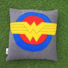 Wonder Woman Pillow On Etsy, $28.78