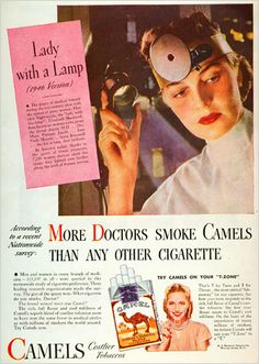 In Old Ads, Doctors and Babies Say 'Smoke' - The New York Times > Media & Advertising > Slide Show > Slide 3 of 10