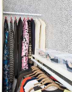 Too much stuff, too little space, too many wardrobe woes. Perhaps you can relate? Real Simple helped a busy working mom transform her clothes closet, from what's in it to where it all goes. This two-part solution will work wonders for yours, too. Sell Your Clothes Online, Real Simple Magazine, Closet Organization, Wardrobe Organisation, Household Organization, Organizing Tips, Organising, Organization Ideas, Storage Ideas