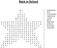 Word search generator...I just did one with all his vocabulary words from the book he is reading, I can see this would be usefull for spelling words too.