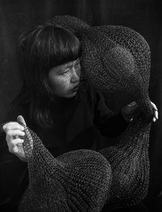 Ruth Asawa: esculturas tejidas