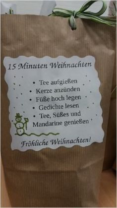 15 minutes of Christmas in the bag - Weihnachten - noel Christmas Bags, Christmas Fashion, Diy Christmas Gifts, Winter Christmas, Christmas 2019, Diy Cadeau Noel, Diy Crafts To Do, Stamping Up, Diy Gifts