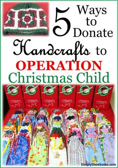Simply Shoeboxes: Crafting Fillers for Donations at Operation Christmas Child Processing Center Christmas Child Shoebox Ideas, Operation Christmas Child Shoebox, Christmas Gifts For Her, Christmas Crafts For Kids, Christmas Boxes, Christmas 2014, Diy For Kids, Gifts For Kids, Operation Shoebox