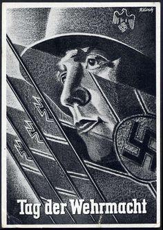 1941 Tag der Wehrmacht, Inf.-Ers.-Rgt. 56 m. SST Dresden,