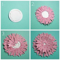 89 best scrapbooking flowers images on pinterest in 2018 nice idea for making flower toppers can make it any size needed too scrapbook paper mightylinksfo