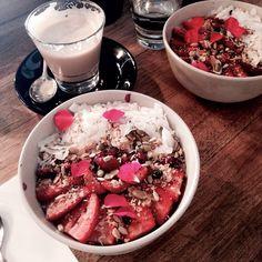 @danavaughan  #food  #breakfast  strawberry,  health  #brunch