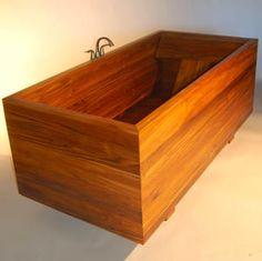 Japanese Ofuro Bathtub Design