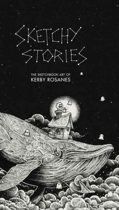 World-renowned artist Kerby Rosanes specializes in black ink doodles and sketches, and at the age of 23, he quit his desk job as a graphic designer to pursue his art full time. With a legion of over a