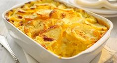Serves 2   Ingredients    500g potatoes   500g sweet potatoes   250g tub The Lake District  Dairy Co. Quark   2 tsp cornflour   1 clov...