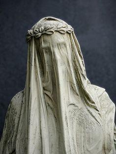 Veiled Lady, Vienna Cemetery