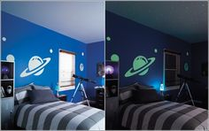 Glow in the Dark Paint and Decals for Your Child's Room!