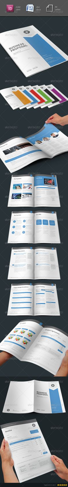 Clean Digital Marketing Proposal Digital marketing, Stationery - proposal word template