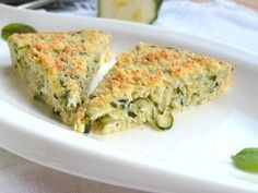 Recept na cuketovou frittatu krok za krokem - Vaření.cz Frittata, Zucchini, Food And Drink, Vegetables, Eat, Cooking, Breakfast, Tips, Recipes