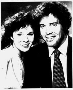 The original Tara and Phil -All My Children (Karen Lynn Gorney and Nick Adams