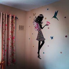 Media Tweets by Custom Murals (@CustomMuralsUK) | Twitter #mural #girls #room