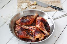 Garlic Ginger Chicken - Primal Palate  #paleo