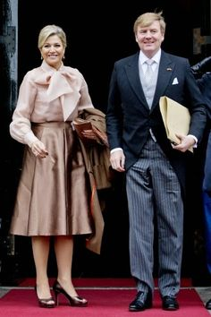 16 JANUARY 2014 Yesterday:King Willem-Alexander and Queen Máxima attended the New Years reception for the Corps Diplomatique at the Royal palace in Amsterdam.