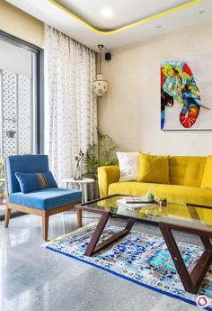 Lodha Wadala: Cosy & Compact Home Gets Happy Interiors, Compact Cosy diylivingroomprojects happy Home interiors Lodha Wadala 670332725772261499 Living Room Stands, My Living Room, Living Room Interior, Living Room Decor, India Home Decor, Indian Living Rooms, Living Room Designs India, Indian Home Interior, Home Decor Furniture