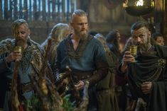 BJORN & HALFDAN & HARALD - Vikings - season 4 episode 12