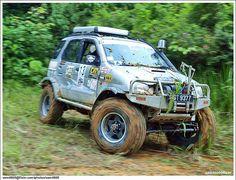 Terios zoals hij hoort te zijn Daihatsu Terios, Kia Sportage, Offroad, Samurai, 4x4, Monster Trucks, Cars, Vehicles, Mini