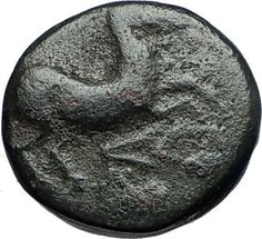 MARONEIA Thrace 400BC Authentic Ancient Greek Coin w HORSE & WINE GRAPES i68820